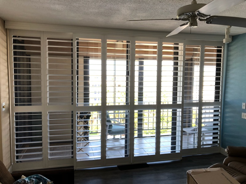 Open Bypass Shutters The Perfect Choice For Light Control, Efficiency, And  Durability In A Villages Home.